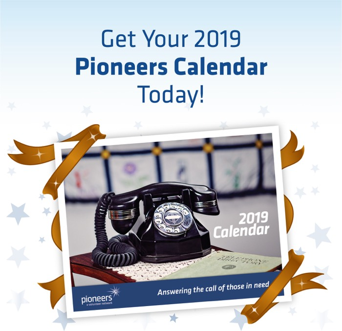 Get Your 2019 Pioneer Calendar Today!